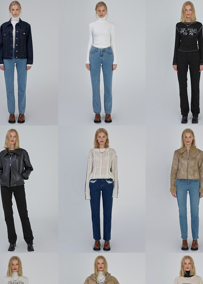 [FW20 DENIM WEAR 1ST] LOOKBOOK